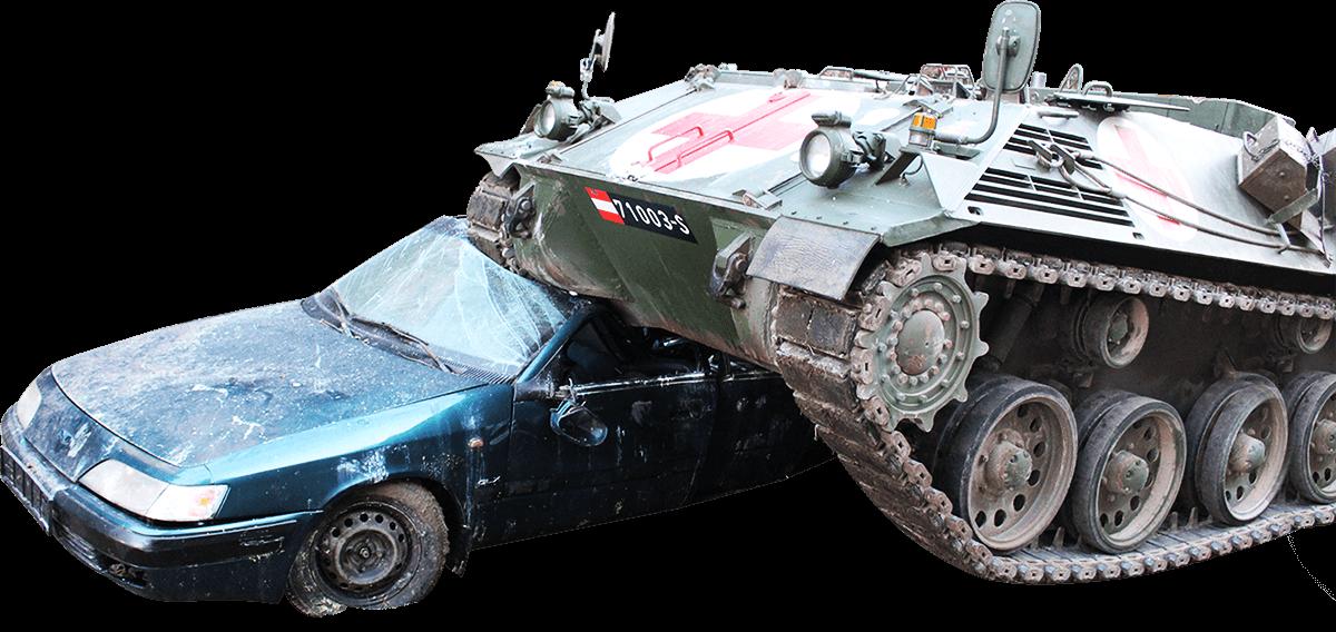 tank v Bratislave - NO LIMITS