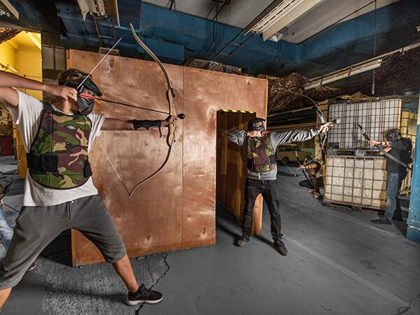 archery tag v bratislave