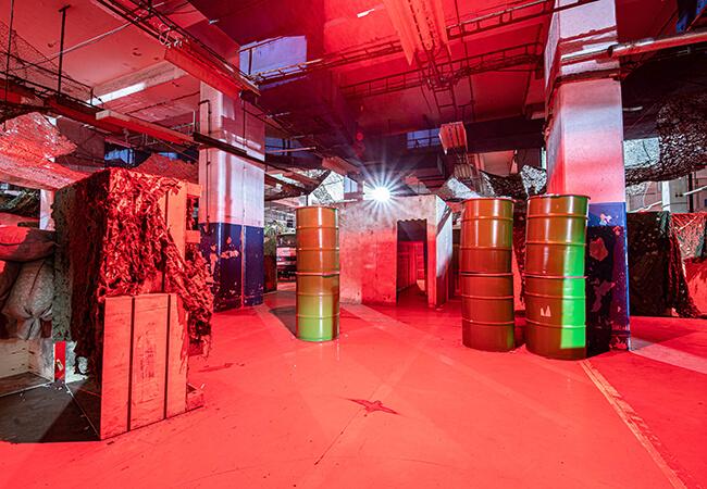 najvačší laser tag v Bratislave