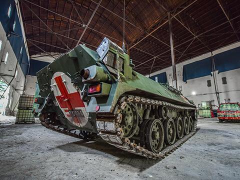 jazda na tanku slovensko