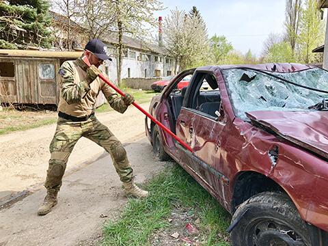 stress killer demolovanie auta no limits