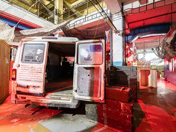 laser tag bratislava hero factory bojiská pre akčné športy